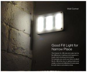 Image 3 - Aputure أماران AL M9 CRI95 + Mini LED الفيديو الضوئي على الكاميرا ملء ضوء مع حامل ضوء ترايبود صغير ومجموعة تنظيف Pergear