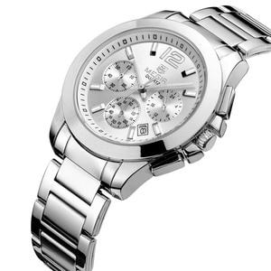 Image 3 - MEGIR 女性の恋人腕時計トップの高級ブランド女性クロノグラフ時計エレガントな古典的な女性時計ガールクォーツ腕時計新 5006