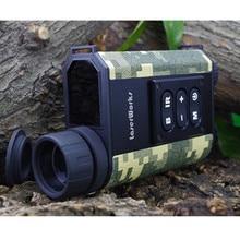 Wholesale prices 6X32 Night Vision Laser Rangefinder Binoculars Infrared IR Monocular Scope Riflescope Telescope Device For Golf Hunting Games