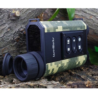 Free Shipping 6X32 Night Vision Infrared IR Monocular Scope W Ranger Finder Batteries Chargers