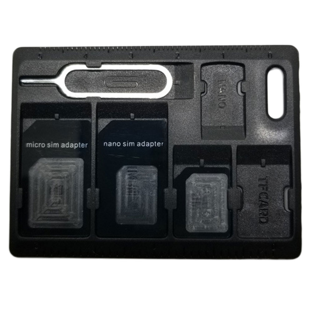 Plastic Portable Unique SD Card Box Memory Card Case Computer Accessory for SDHC SDXC Micro SD TF SIM Card