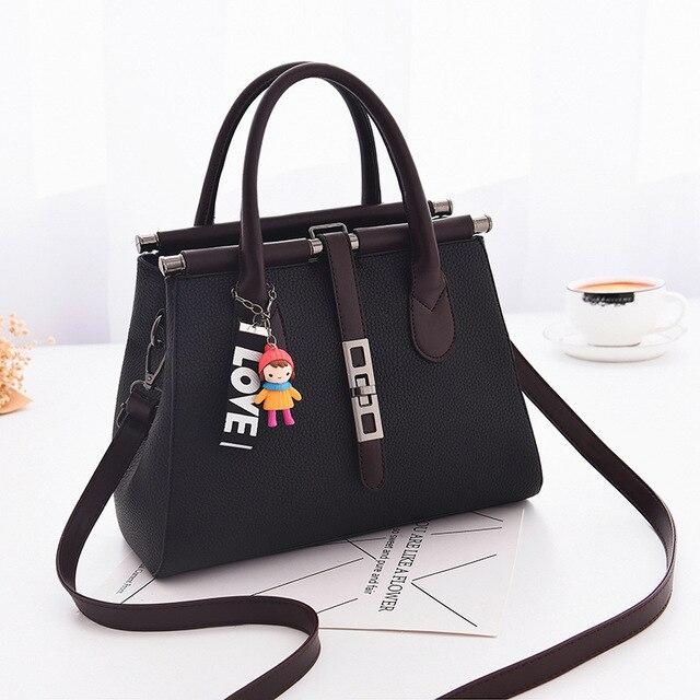 1dec72fecc3 Women Bag Vintage Messenger Bags Shoulder Handbag Women Top-Handle Crocodile  Pattern Composite Bag Purse Wallet Leather tassel