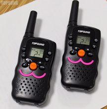 Longo alcance walkie talkie pmr446 hf vt8, transmissor móvel, 1w, interfone woki toki cb uhf com lanterna standby duplo