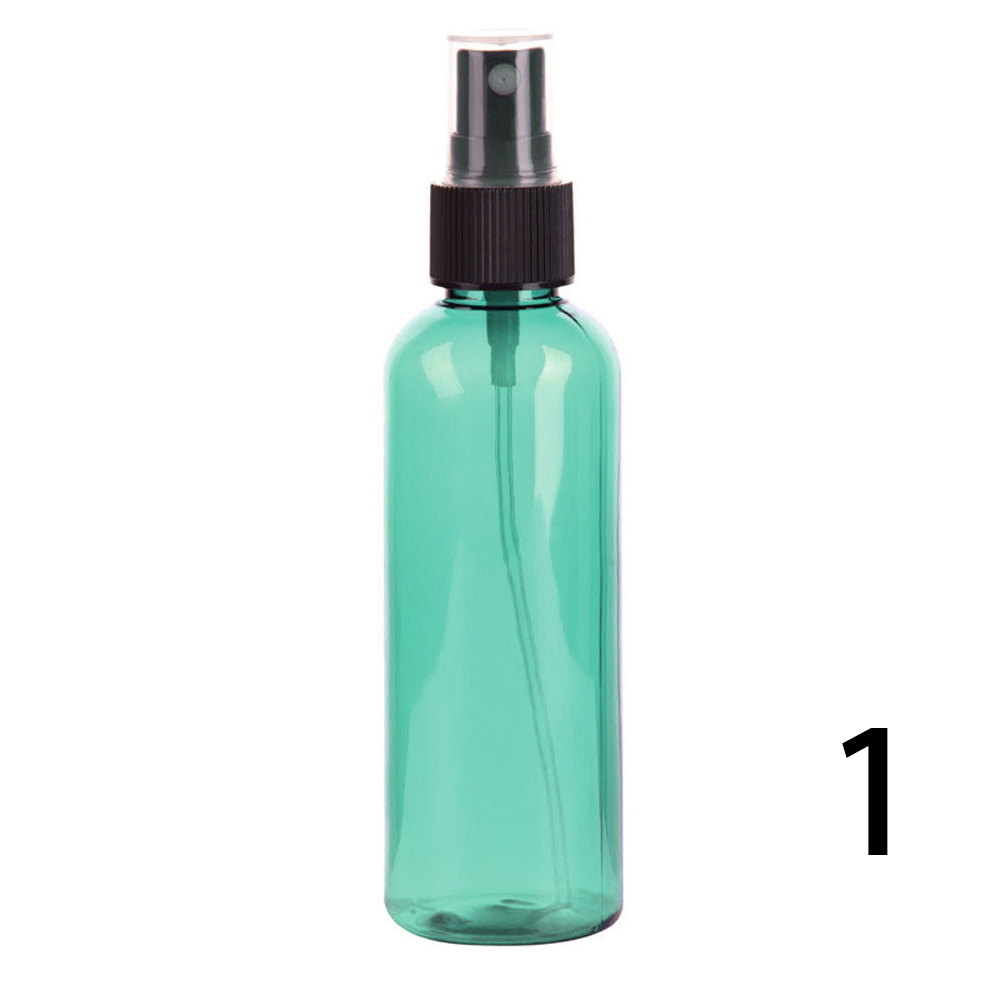 100ml Empty Spray Bottle Perfume Toilet Water Makeup Containers Plastic Transparent Brown Bottle  Travel Essentials