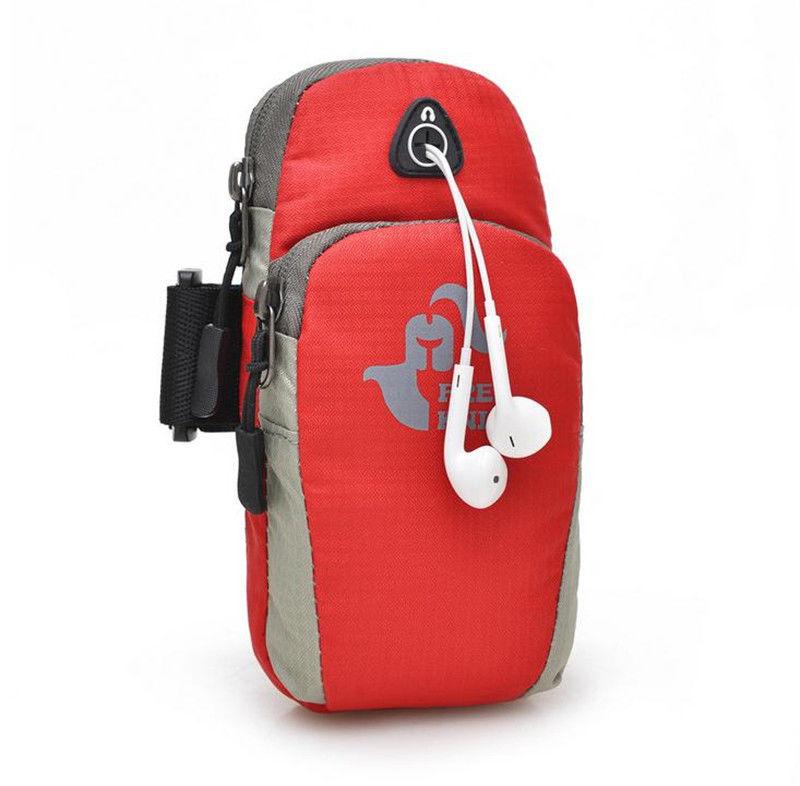 Sports Running Jogging Gym Armband Arm Band Holder Bag For Mobile Phones brand new anti slip sports gym jogging armband for ipod touch 5 blue