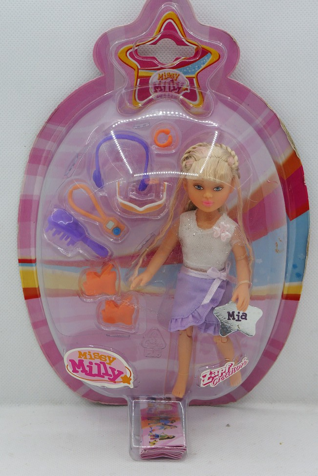 ZAPF Creation-Miss Milly-Getting Ready Play Set x 6