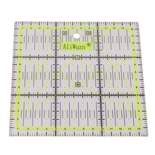 1pcs High-grade Acrylic Material Multi-function Clothing Ruler 15 * 15cm Sewing Patchwork Ruler DIY Hand Must-have