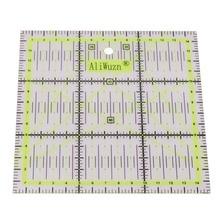 1pcs Υψηλής ποιότητας ακρυλικό υλικό Πολυλειτουργικό ρούχο χάρακα 15 * 15cm Ραπτική Patchwork χάρακα DIY χέρι πρέπει να έχουν