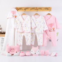 13pcs Cotton infant clothing set baby clothes newborn baby clothes boy girl baby clothing baby pajamas gift set