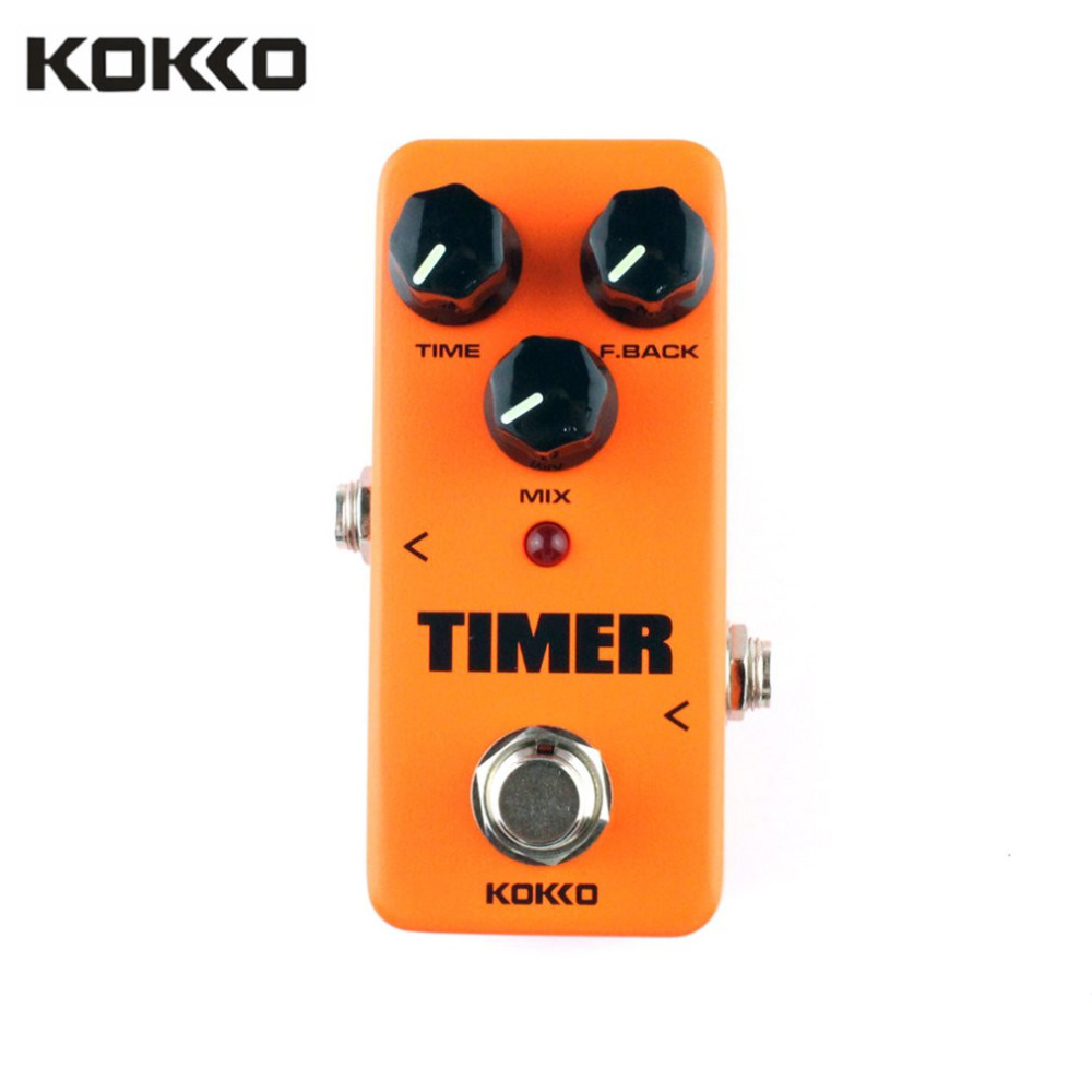 KOKKO FDD2 Timer Delay Electric Guitar Effect Pedal Effect Sound Processor Timer Delay Guitar Stompbox Parts & Accessories