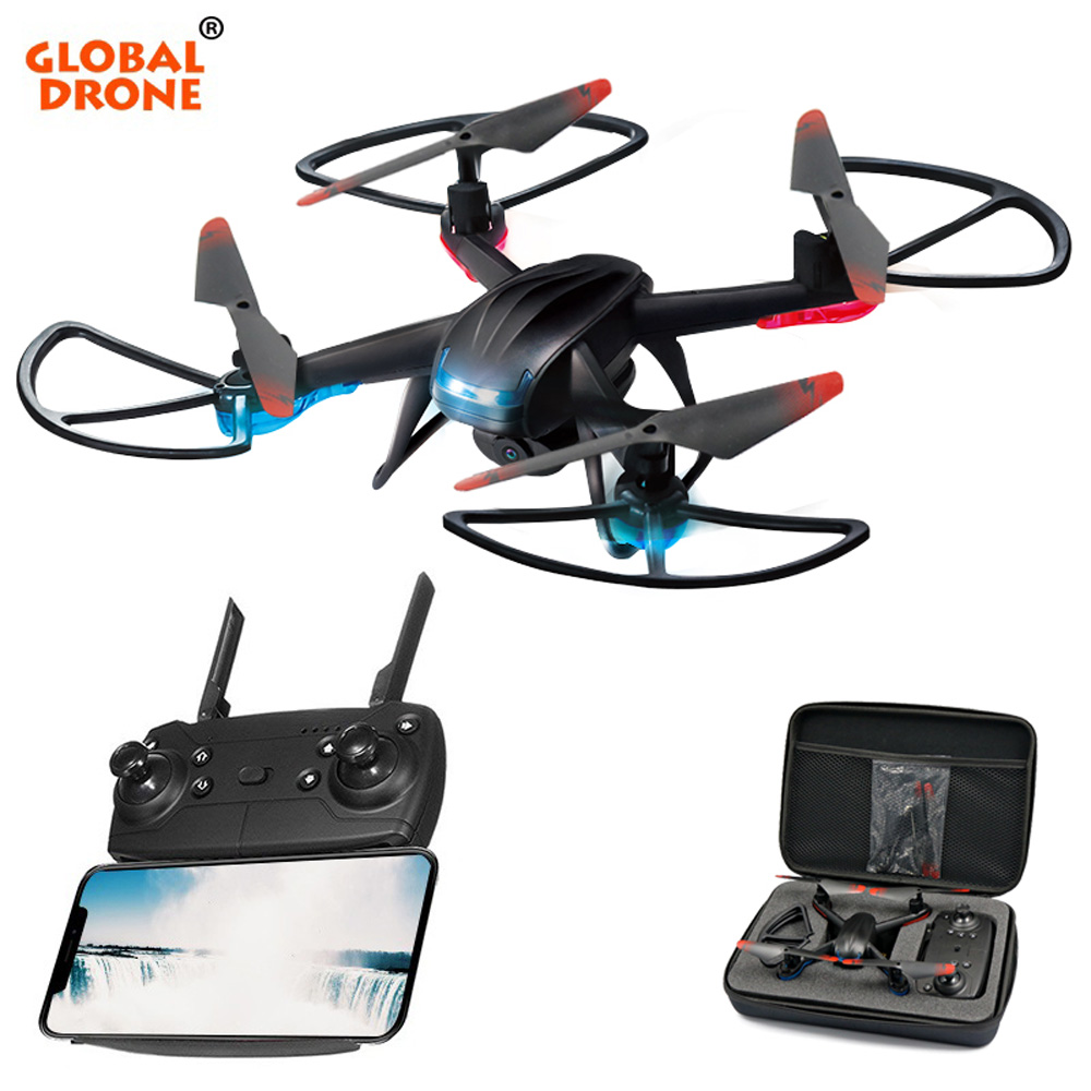 Global Drone GW007-3 RC Quadrocopter FPV Drones with Camera HD High Hold Mode Easy to Operate Mini Dron with HD Camera global drone gw007 rc quadcopter spare parts charger gw007 09