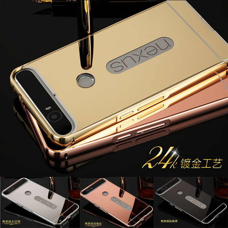 2af9b5e40e Case-for-Google-Nexus-6P-Luxury-Gold-Plating-Armor-Aluminum-Frame -252B-Mirror-Acrylic-Case-for.jpg