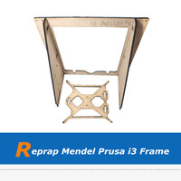 DIY Reprap Mendel Prusa i3 Brasswood Frame with 6mm Thickness
