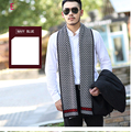 2017 Hot sale winter scarves wool warm soft superior quality scarf lattice thicken business korean version all-match scarf men