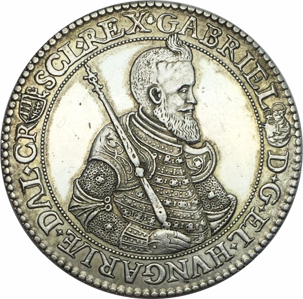 Coins & Paper Money Coins: Medieval Cooperative Russian Princedom Silver Coin .