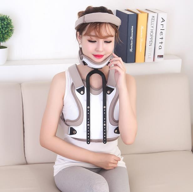 Adjustable neck and chest orthoses postoperative neck and neck collar chest neck collar with a bracket