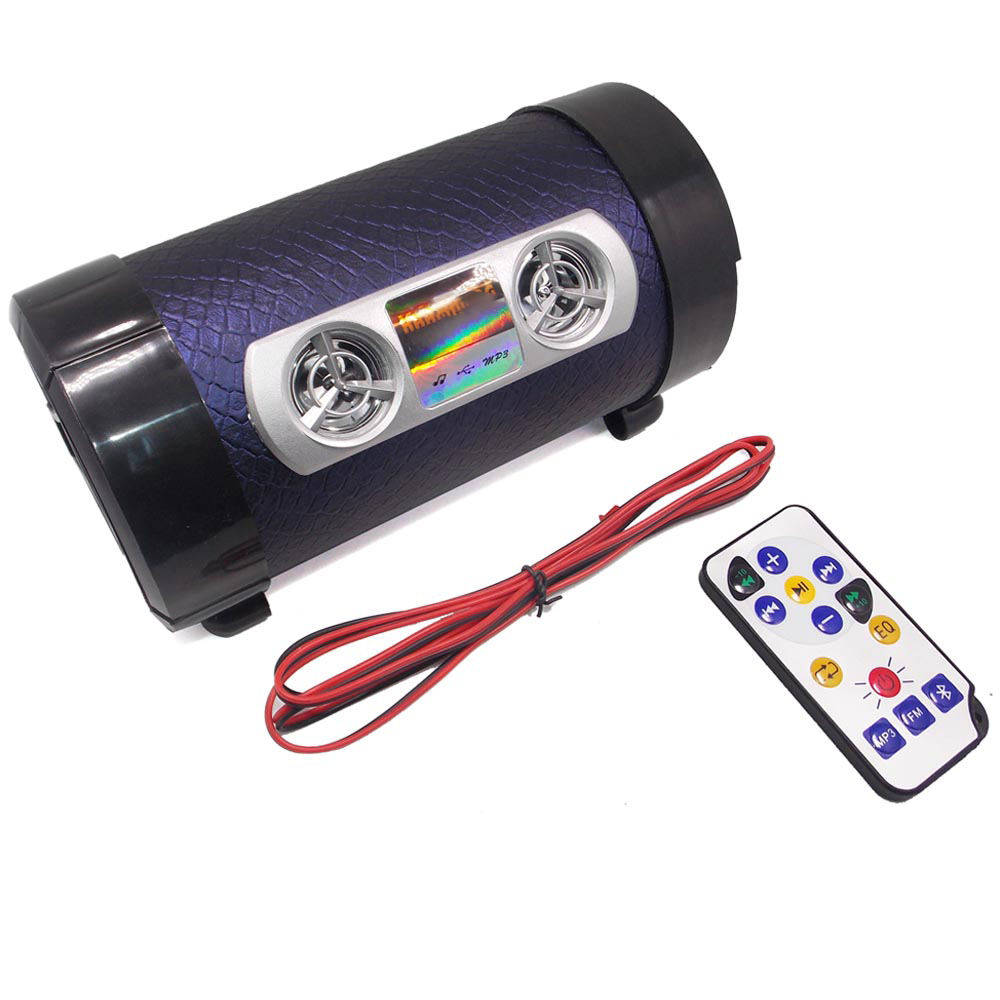 Motorcycle MP3 Music Player Audio System Motorbike Bluetooth Speakers FM Radio Support USB TF Card Remote Control Speaker Motor