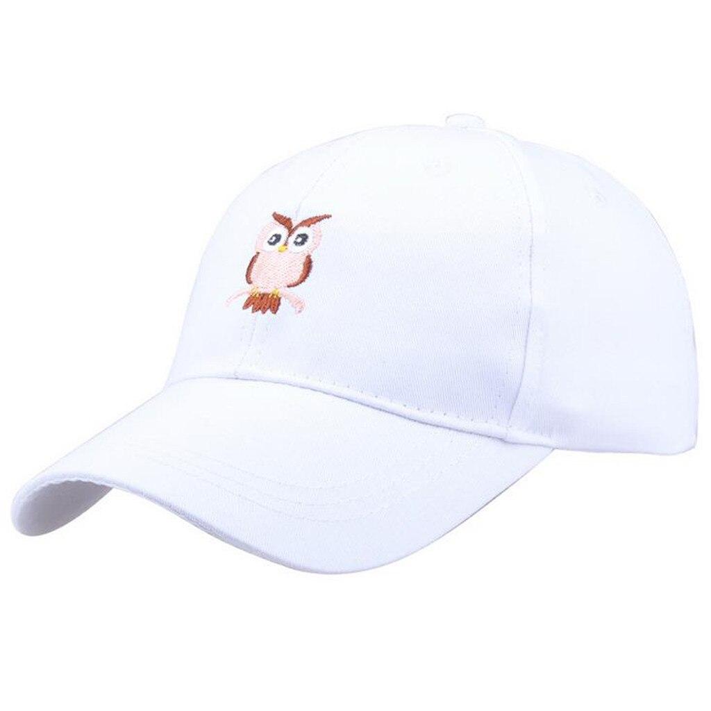 Eimer-hüte Methodisch Hüte Für Frauen Fashion Männer Unisex Sommer Im Freien Eule Visier Baseball Kappe Einstellbar Hut Chapeau Femme été 2019 Freigabepreis