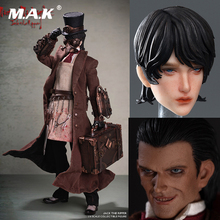лучшая цена Full set action figure YZBR-00002 1/6 Scale Jack the Ripper Action Figure Model with 2 heads for Fans Collection Gifts