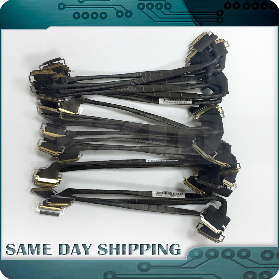 EXIN 10Pcs Lot GENUINE NEW for MacBook Pro 13 A1278 LCD Display Cable LVDs Screen Cable