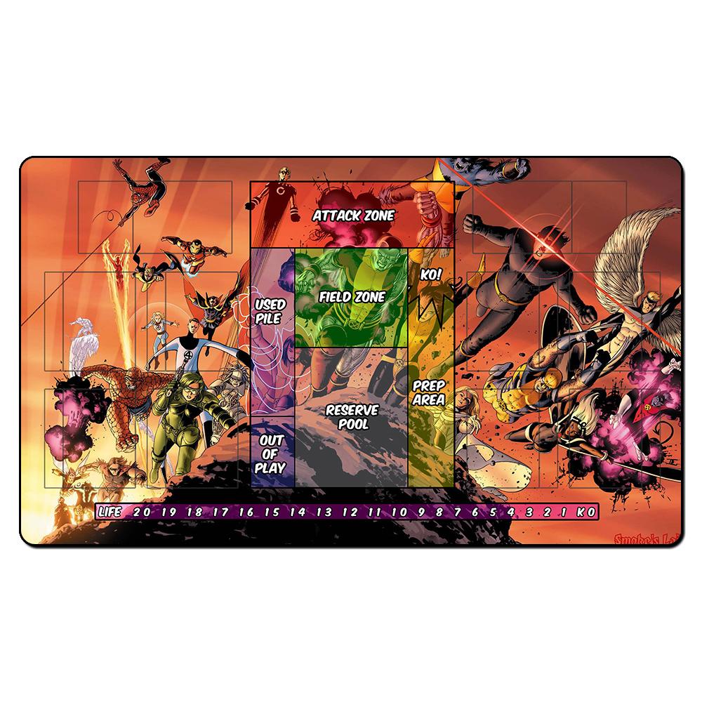 x men juego tapetes de juego juegos de mesa tarjeta mgica estera del