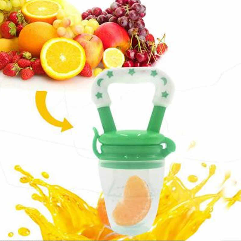"Baby newborn Baby pacifier fresh food fruit feeder safety Baby food supplement ""bean equipment nipple nipple bottle"