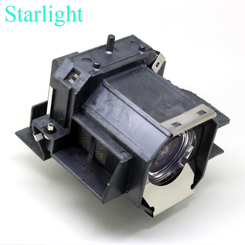 Starlight лампы проектора для ELPLP39 V13H010L39 для EPSON EMP TW700 EMP TW980 EMP TW1000 EMP TW2000 PowerLite HC 1080 ub