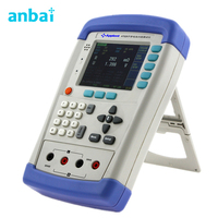 AT528L Handheld Battery Internal Resistance Tester Meter For Contact Resistance