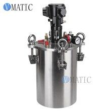 Бесплатная доставка пневматический смешивая бак давления клея давления воздуха нержавеющей стали дозируя/контейнер давления