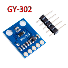 GY-30 GY-302 BH1750 BH1750FVI light intensity illumination module 3V-5V for Arduino(China)