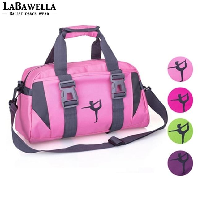 27fc5eb1da Women Purple Yoga Sports Bag Girls Pink Gym Dancing Bag For Fitness Adult  Big Waterproof Handbag or Shoulder Dance Bag AS8631