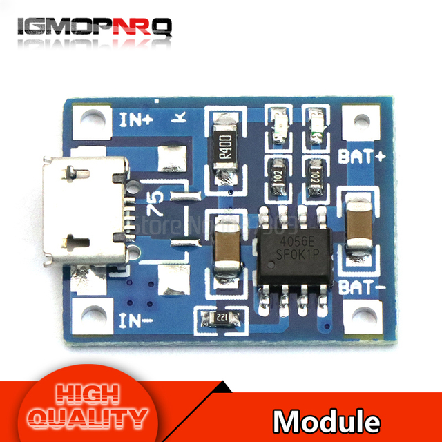 5pcs TP4056 1A Lipo Battery Charging Board Charger Module lithium battery DIY Port Mike USB Interface