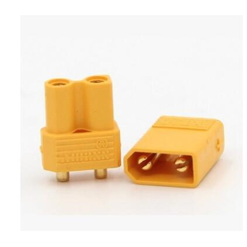 10 шт. Amass XT60 XT90 XT30 мужские и женские разъемы банановые пробки медные пули Позолоченные RC части для Lipo батареи XT-60 XT-90 - Цвет: XT30