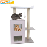 87cm Domestic Delivery Cat Furniture Kitten Scratches Toy Climbing Frame Pet Supplies Animal Play Cat Toy