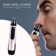 Men Electric Nose Hair Trimmer Nasal Hair Removal Shaver Clipper Cleaner Ear Hair Removal Face Care Tool Portable