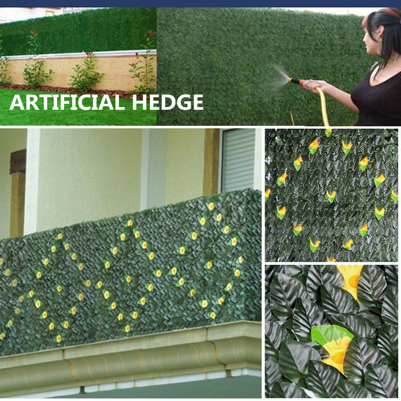Online Buy Wholesale Artificial Leaf Fence From China