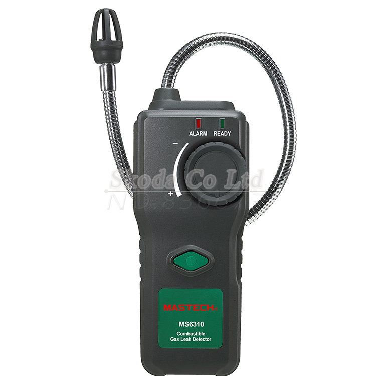 ФОТО Multifunctional Flammable Gas Detector Combustible Gas Leak Tester Sound Light Alarm MS6310 Freeshipping