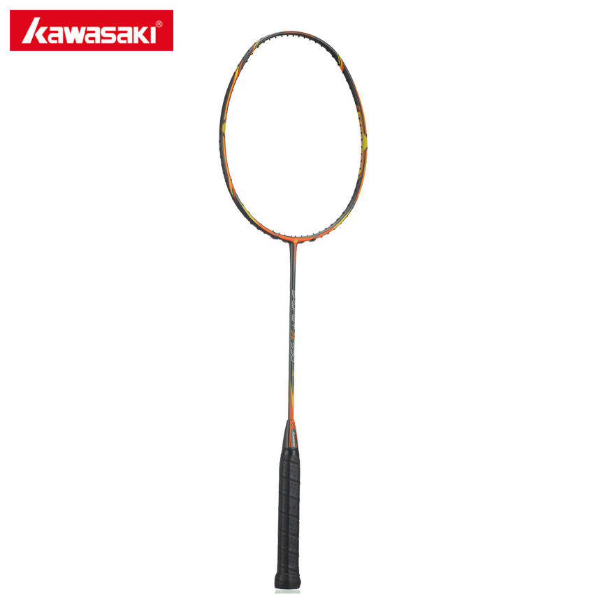 Kawasaki Original Skynet X530 Carbon Badminton Rackets Attack Type Oversize Frame Professional Badminton Racquets yonzhenx 2017 new 3u badminton rackets super light g3 high tension full carbon professional badminton racquet with original bag