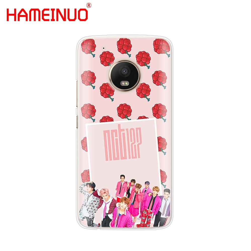 HAMEINUO KPOP K.A.R.D MONSTA X NCT 127 case phone cover For Motorola Moto X4 E4 C G6 G5 G5S G4 Z2 Z3 PLAY PLUS