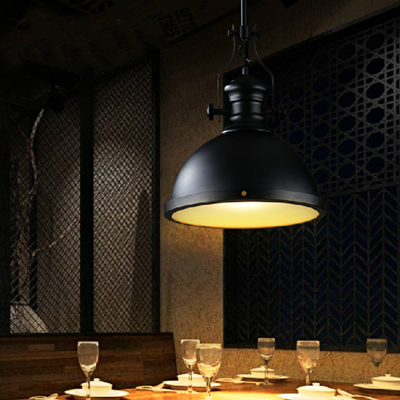 Aliexpress.com : Buy Industrial Style Pendant Lighting Restaurant Industrial  Hanging Lamp Decorative Pendant Lights Edison Suspension Retro Lamp From ...