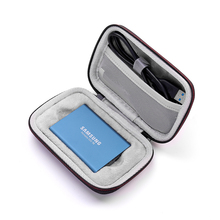 EVA Hard Carrying Cover Pouch Case for Samsung T5/T3/T1 Portable 250GB 500GB 1TB 2TB SSD USB 3.0 External Solid State Drives аксессуары для переговорных устройств tyt 9900 8800 888 t1 t2 t3 t5