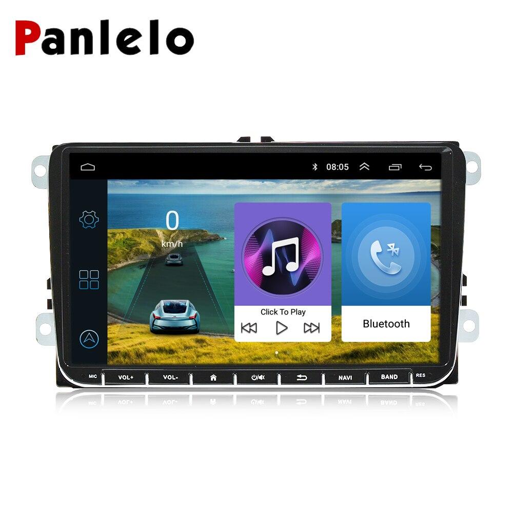 Panlelo S5 pour VW 9 pouces voiture Android 6.0 GPS Navigation voiture stéréo Radio lecteur multimédia 2 Din Android pour Bora Golf Polo VW