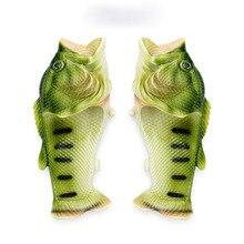 Мужская обувь; креативные забавные летние уличные тапочки в форме рыбки; Мужская и Женская пляжная обувь; женские шлепанцы