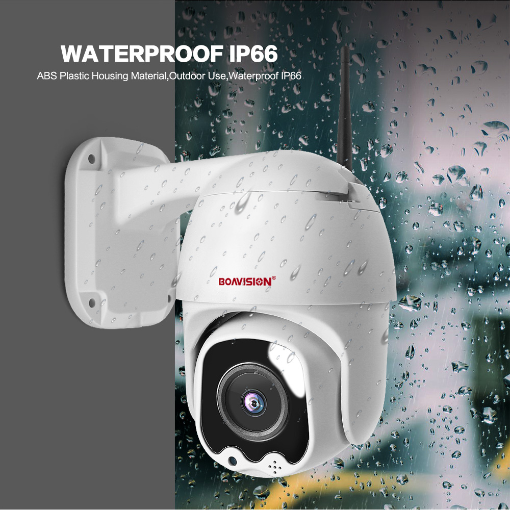 1080P Wireless MINI PTZ IP WIFI Camera Speed Dome 2MP CCTV Security IP Camera ONVIF Outdoor IR 30M Two Way Audio P2P APP CamHi