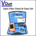 Оптическое волокно проверить очистка комплект VD-FC1 с инспекционной видео микроскоп инспекции зонд 1.25 / 2.5 мм чистого Pen очиститель box