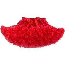 Г. Юбка-пачка для девочек Пышная красная одежда для маленьких девочек vetement enfant fille Jupe юбка-пачка s Saias tutu falda infantil menina