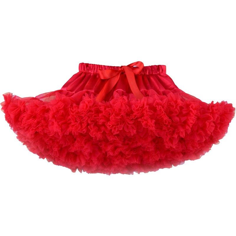 2019 meninas tutu saia fofo vermelho crianças roupas da menina do bebê vetement enfant fille jupe tutu saias saia tutu falda infantil menina