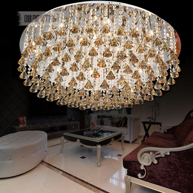 Austrian India Luxury Ceiling Lamp Lighting The Living Room Crystal Diamond Decorative