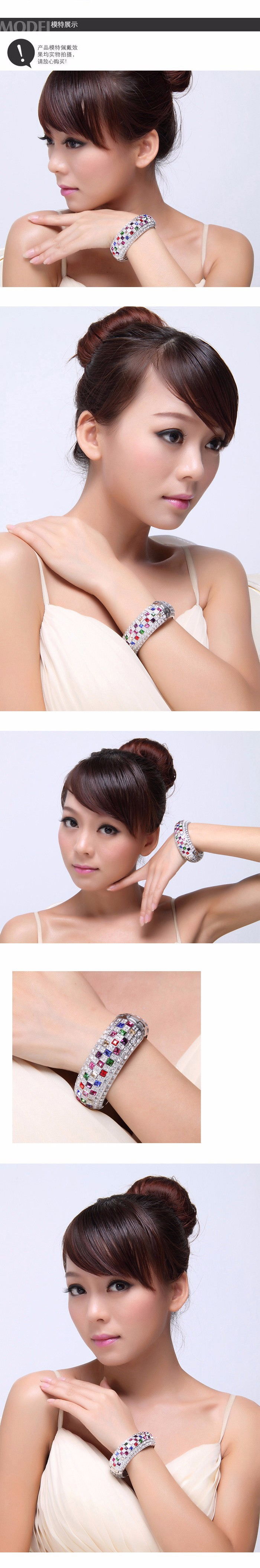 модный элегантный роскошный браслет королева сделано с австрийскими кристаллами от Сваровски для новогодние товары подарок