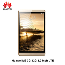 Huawei Mediapad M2 8 pulgadas 2.0 GHz Octa Core 3G Ram 32G Rom LTE 4800 mAh IPS Kirin 930 8.0MP Multi idiomas tablet PC huawei M2